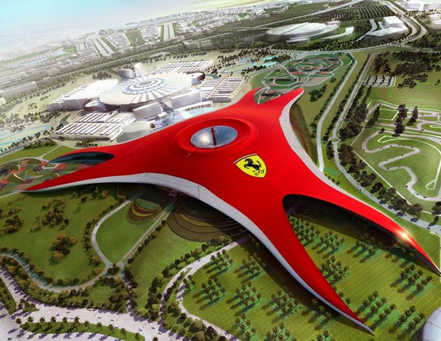 Ferrari World — сплошной адреналин