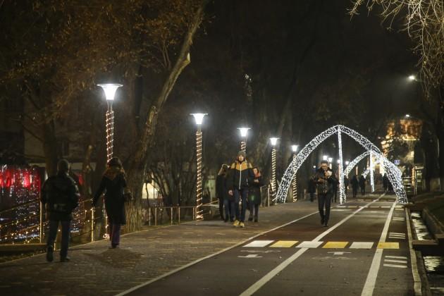 LED-светильники появятся еще на 120 улицах Алматы
