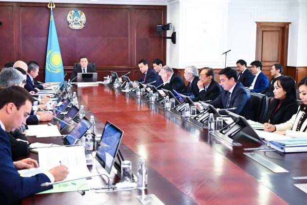 Аскар Мамин провел заседание Совета директоров «Байтерека»