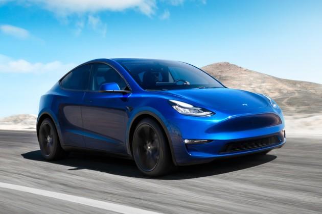 Tesla представила электрокар Model Y