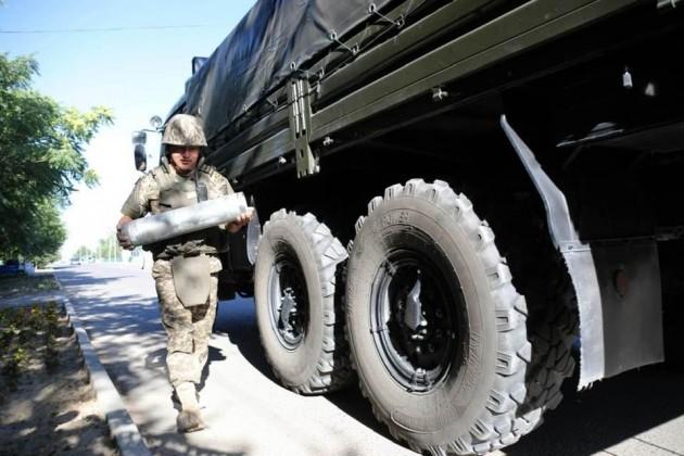 В городе Арыс обнаружено более 5 тысяч снарядов