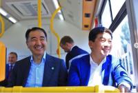В Алматы тестируют электроавтобусы местной сборки