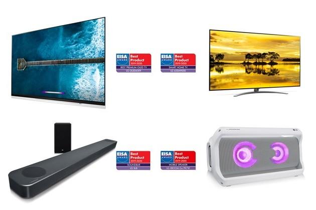 LG Electronics удостоена высших наград EISA Awards