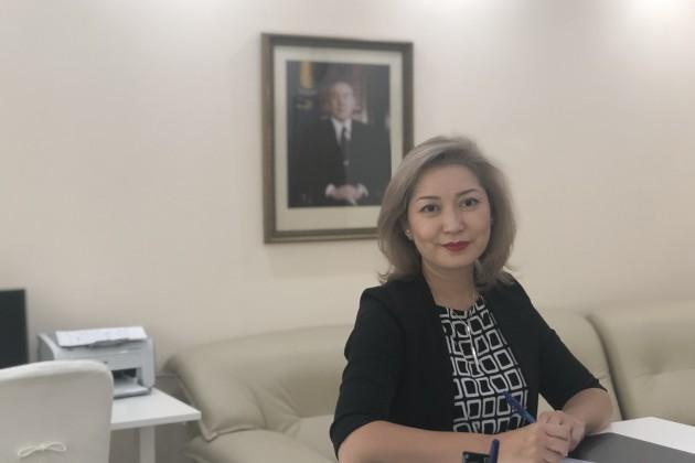Акерке Ахметова стала вице-министром юстиции