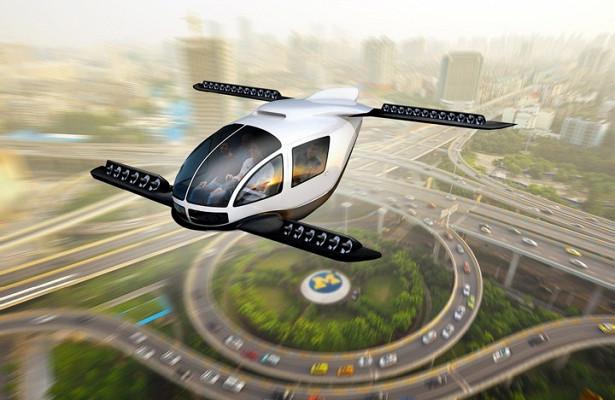 Hyundai займется созданием летающих такси