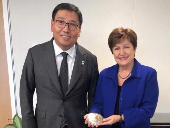 В Алматы откроется Региональный центр техподдержки МВФ